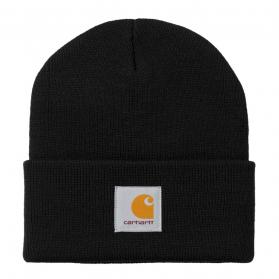 Short Watch Hat Black