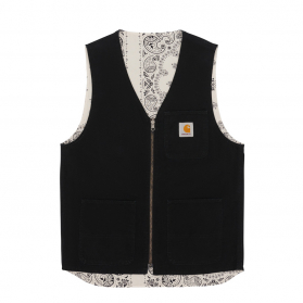 Bandana Work Vest Black / Wax