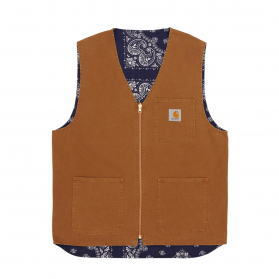 Bandana Work Vest Hamilton Brown / Navy