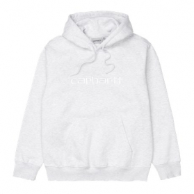Hooded Carhartt Sweat Ash Heather