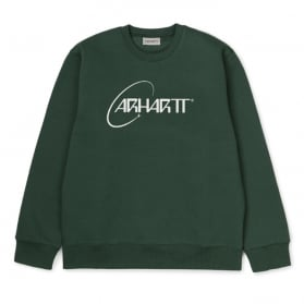 Carhartt WIP Orbit Sweat Treehouse / White