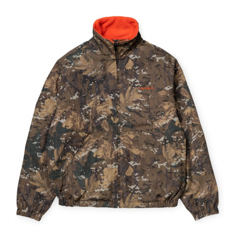 Carhartt WIP Denby Reversible Jacket Camo Combi / Safety Orange
