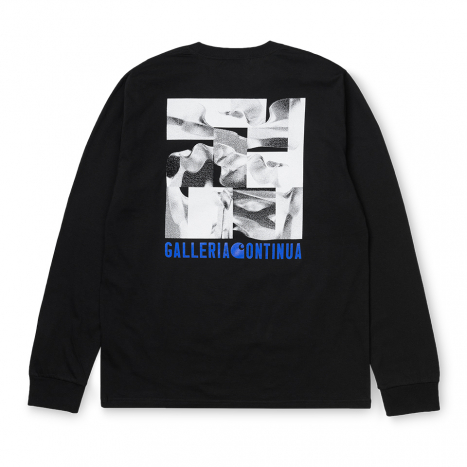 Carhartt WIP L/S Galleria Continua T-Shirt Black