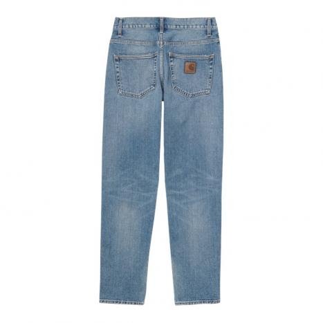 Carhartt WIP Klondike Pant Blue Worn Bleached