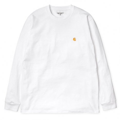 Carhartt WIP L/S Chase T-Shirt White