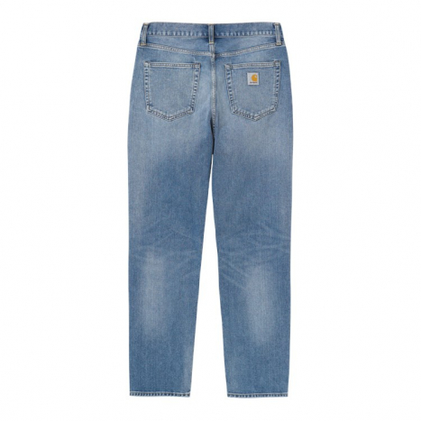 Carhartt WIP Newel Pant Blue Worn Bleached