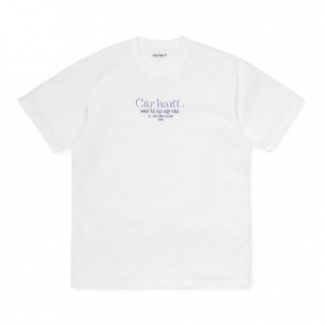 Carhartt WIP S/S Commission T-Shirt White