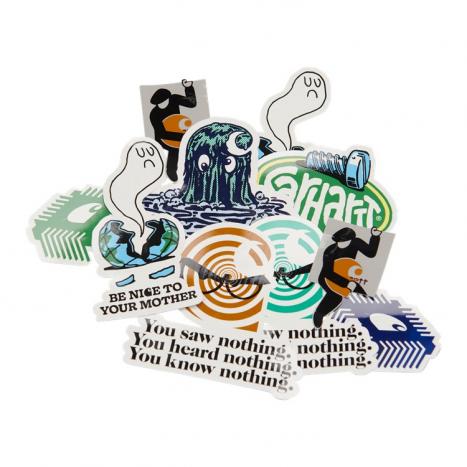 Carhartt WIP Sticker Bag Multicolor SS21