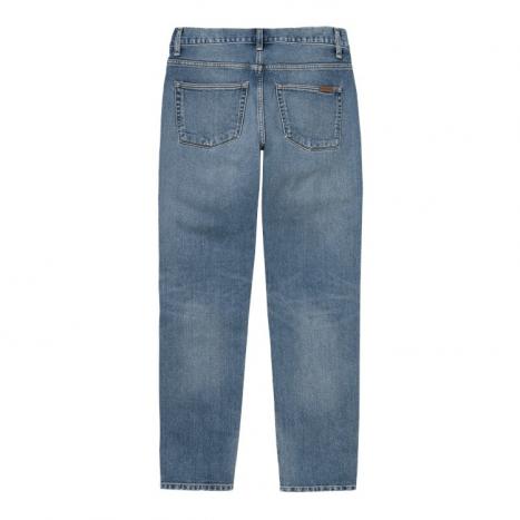 Carhartt WIP Vicious Pant Blue Worn Bleached