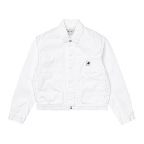 Carhartt WIP W' Sonora Jacket White Worn Wash