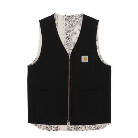 Bandana Work Vest Black / Wax