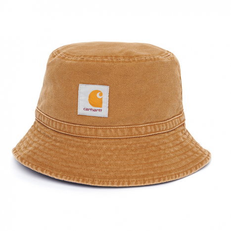 Carhartt WIP Bandana Bucket Hat Hamilton Brown / Dark Navy