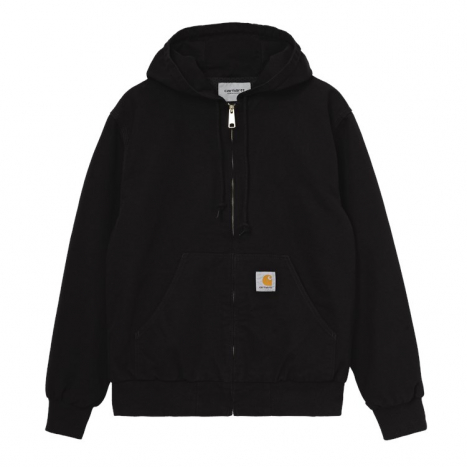 Carhartt WIP Active Jacket Org. Black Rinsed