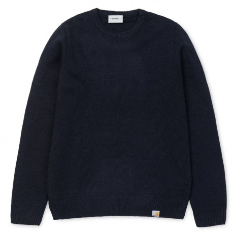 Carhartt WIP Allen Sweater Dark Navy