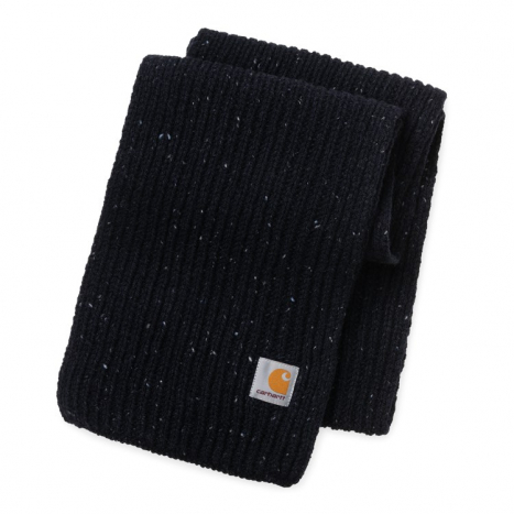 Carhartt WIP Anglistic Plain Scarf Dark Navy Heather