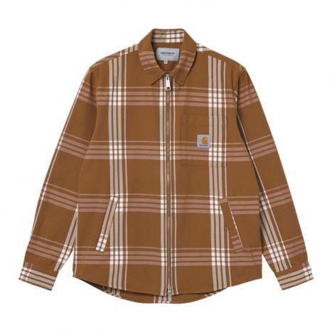 Carhartt WIP Cahill Shirt Jac Hamilton Brown