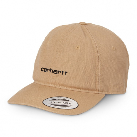 Carhartt WIP Canvas Coach Cap Dusty H Brown