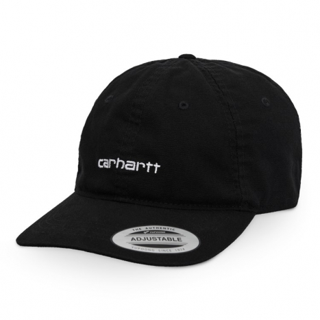 Carhartt WIP Canvas Coach Cap Black / White