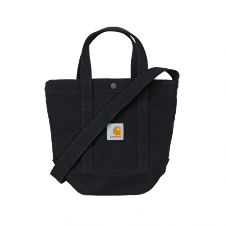 Carhartt WIP Canvas Small Tote Black