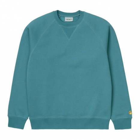 Carhartt WIP Chase Sweat Hydro / Gold