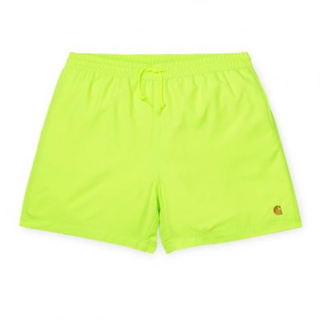 Carhartt WIP Chase Swim Trunks Lime