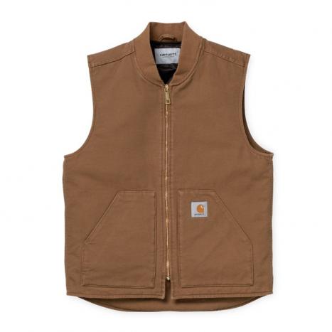 Carhartt WIP Classic Vest Organic Hamilton Brown