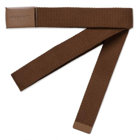 Carhartt WIP Clip Belt Tonal Hamilton Brown
