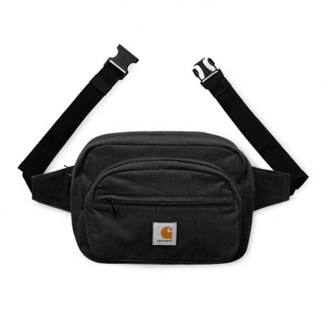 Carhartt WIP Cord Hip Bag Black