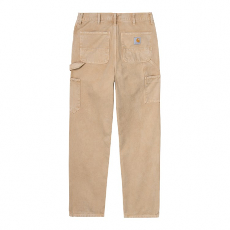 Carhartt WIP Double Knee Pant Dusty H Brown Worn Canvas