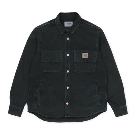 Carhartt WIP Glenn Shirt Jac Black Worn Canvas