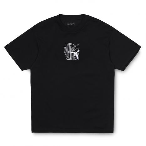 Carhartt WIP S/S Harp T-Shirt Black / White