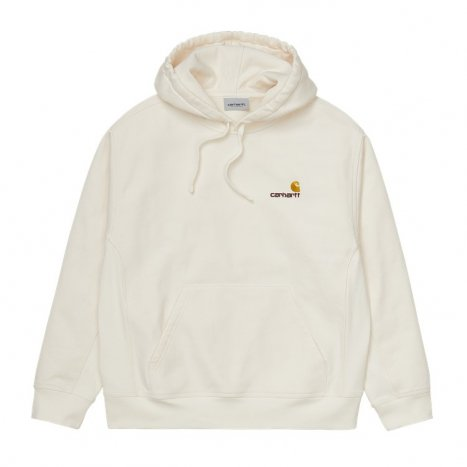 Carhartt WIP Hooded American Script Sweat Wax