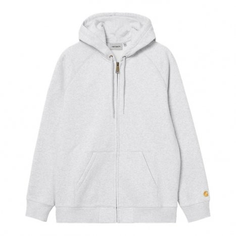 Carhartt WIP Hooded Chase Jacket Ash Heather