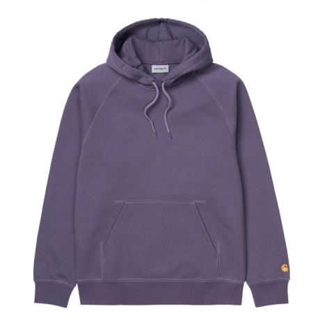 Carhartt WIP Hooded Chase Sweat Provence lilla