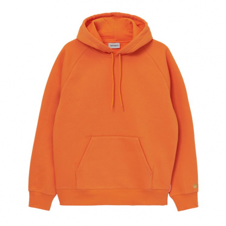 Carhartt WIP Hooded Chase Sweat Hokkaido orange