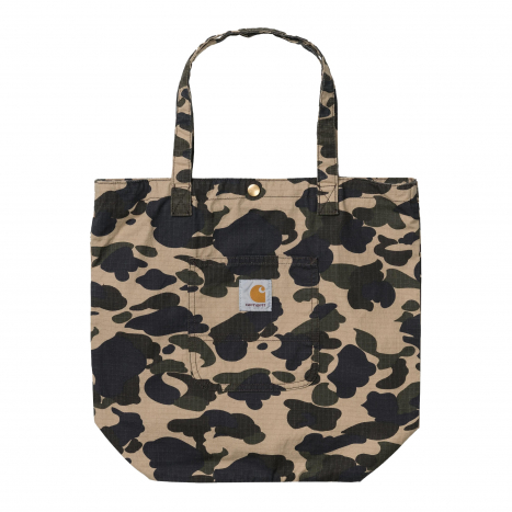 Simple Tote Bag Camo Duck
