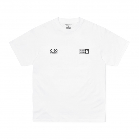 Carhartt WIP S/S Relevant Parties Vol 1 T-Shirt White