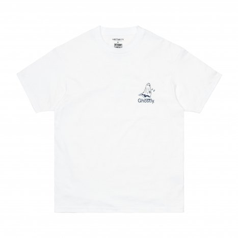 Carhartt WIP S/S Ghostly T-Shirt White