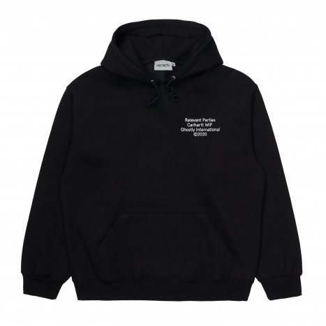 Carhartt WIP Hooded Ghostly Sweat Black