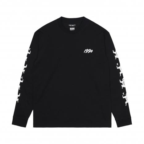 Carhartt WIP L/S Ninja Tune T-Shirt Black