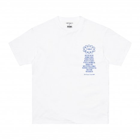 Carhartt WIP S/S Public Possession T-Shirt White