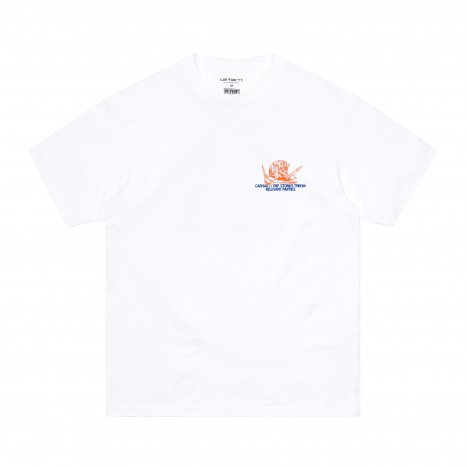 Carhartt WIP S/S Stones Throw T-Shirt White