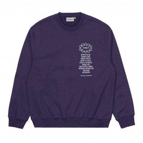 Carhartt WIP Public Possession Sweatshirt Purple