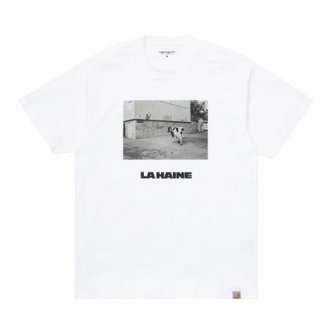 Carhartt WIP for La Haine 25th Anniversary La Haine Cow S/S T-Shirt White