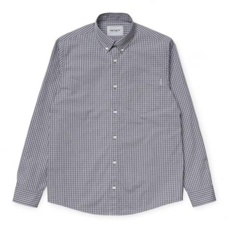 Carhartt WIP L/S Alistair Shirt Shiver Check