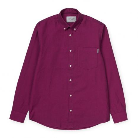 Carhartt WIP L/S Dalton Shirt Shiraz / Ruby