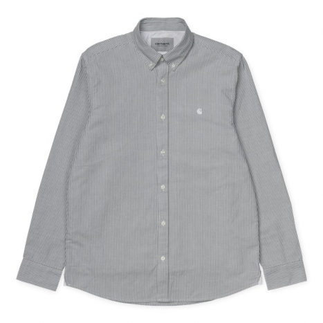Carhartt WIP L/S Duffield Shirt Black / White