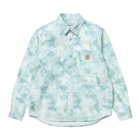 Carhartt WIP L/S Marble Shirt Marble Print