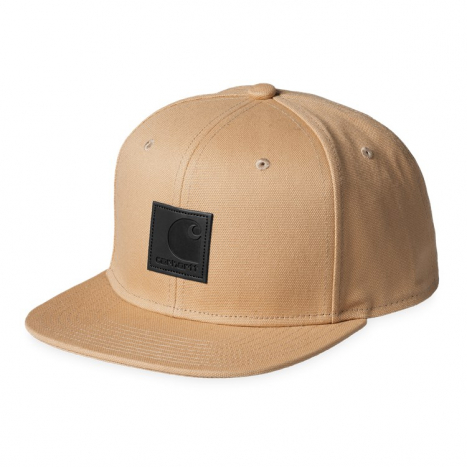 Carhartt WIP Logo Cap Dusty Hamilton Brown