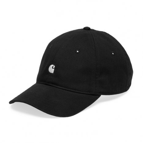 Carhartt WIP Madison Logo Cap Black
